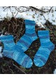 strikkede strømper Tudseskønne® stribede sokker