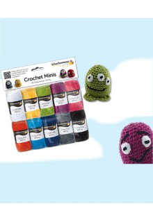 "hækling pakke ""Crochet Minis"""