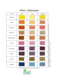 """weja-plantefarvning kit """"syren"""" fra Livos"""
