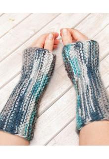 Supernemme håndledsvarmere - strikkekit