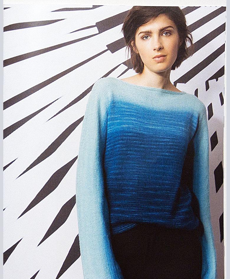 blå bluse i Puno