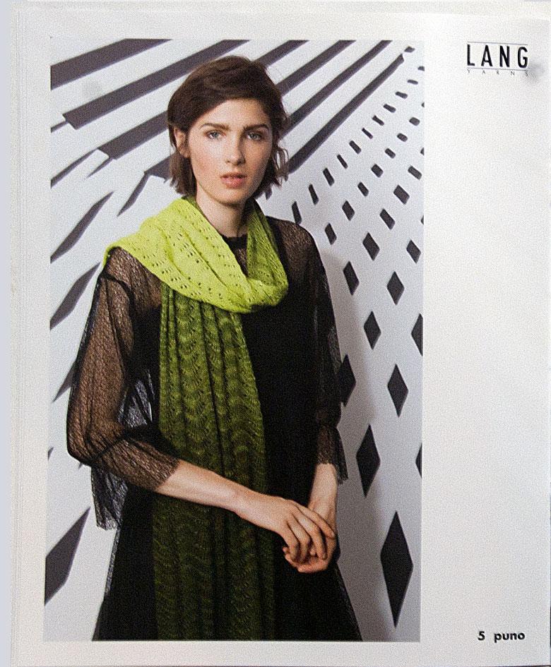 grøn tørklæde i Puno