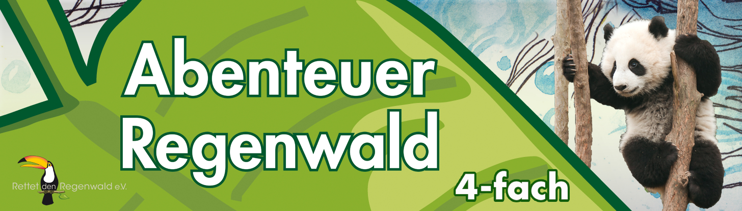 Økonomipakke Abenteuer Regenwald strømpegarn fra Opal