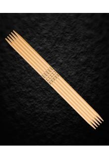 Addi Strømpestrikkepinde 15 cm i bambus