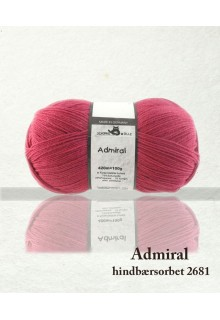 "Admiral ""hindbærsorbet"""