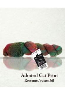 Admiral Cat Print m. polyamid