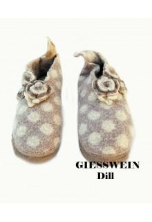 """Giesswein hjemmesko - filtede sko """"Dill"""""""