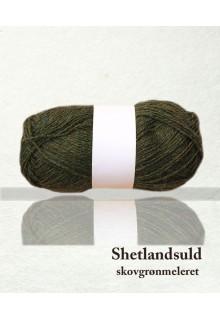 Shetlandsuld meleret