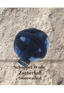 Zauberball - strikkekit dominosjal
