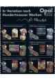 Hundertwasser med sølveffekt