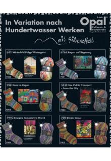 Opal Hundertwasser w. lurex 4-ply cones