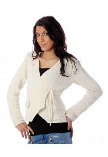 Slå-om-trøje-med-stjernemønster - strikkekit