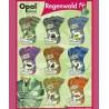 """Opal """"Regenwald 14"""" 6-trådet strømpegarn"""