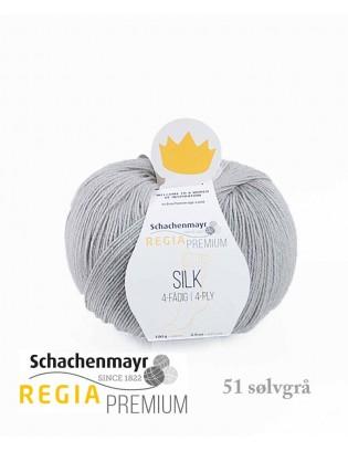 Regia Premium Silk sølvgrå