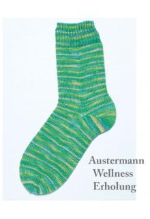 Strømpegarn Wellness, 8 x 100g