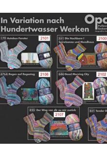 In Variation nach Hundertwasser II
