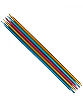 Addi Strømpestrikkepinde 15 cm Colibri