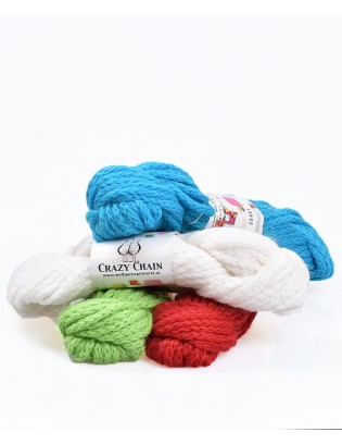 Crazy Chain garn med alpaka og uld