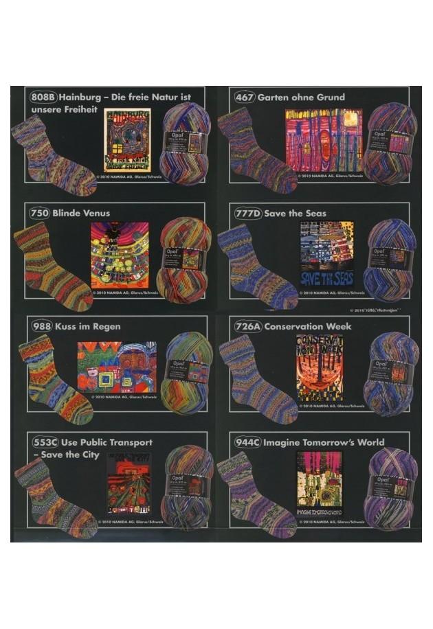 Opal Hundertwasser III 6 tråds