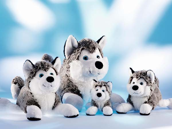 plysdyr, schaffer collection, husky, polarhund