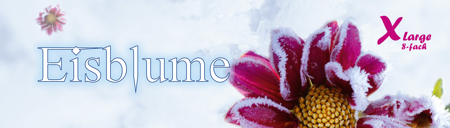 sokkegarn Eisblume varmer fødderne i den kolde tid