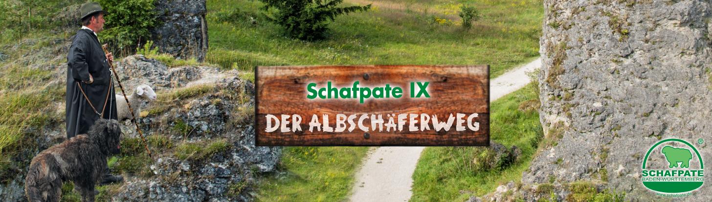 Strømpegarn Schafpate Albschäferweg Opal