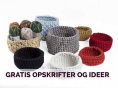 gratis strikke- hækle- hakkeopskrifter